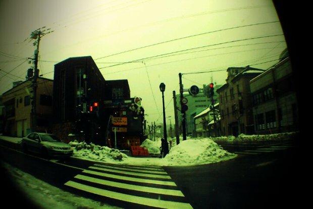 Roaming around at Otaru ~ 8. the Traffic