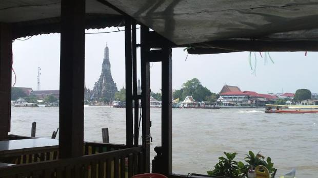 Framing Wat Arun